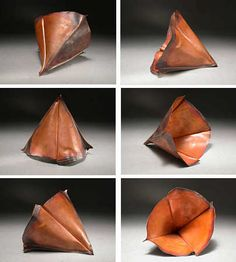 [Ganoksin] Jewelry Making - Fold-Forming Rolled Fold: Heistad Cup