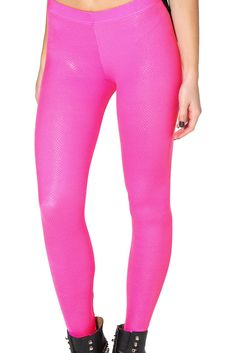 Fairy Dust Pink Leggings - LIMITED by Black Milk Clothing $60AUD