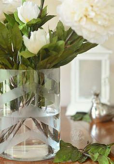 DIY Etched Vase