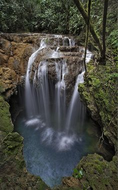 Monkey's Hole Waterfalls, Brazil (rePinned 092013TLK) love the name of the Falls...