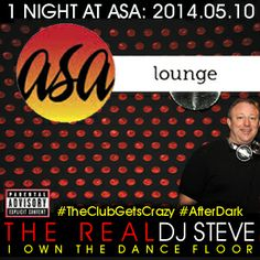 This is how we turn it up @Åsa Grönholm. This was my 27th performance there, the night was FIRE  Hope you liked this set – we do this twice a week, every week. Come out and party with me live: Club Asa #After Dark