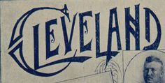 Cleveland typography and lettering