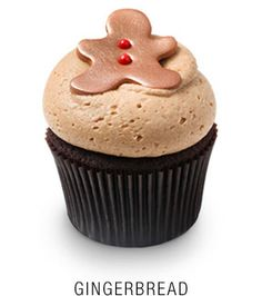 ***Georgetown Cupcake Gingerbread Cupcakes with Cinnamon Cream Cheese Frosting