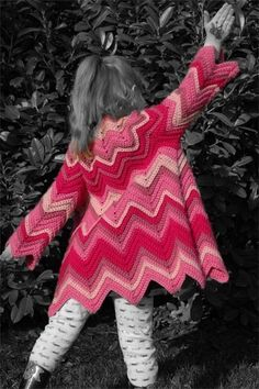 Henrietta's Retro Carriage Coat Crochet Pattern by LemonadeMoon