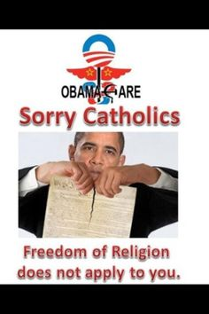 Taking away religious liberties for all Christians.