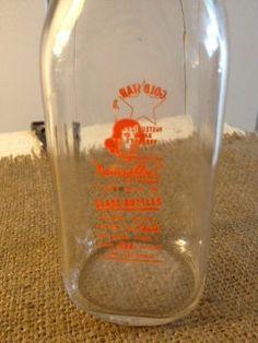 Gold Star Dairy Milk Bottle by dinoloff on Etsy, $11.00