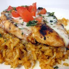 Pollo Loco - Mexican Chicken and Rice (marinated grilled chicken served over yummy rice)
