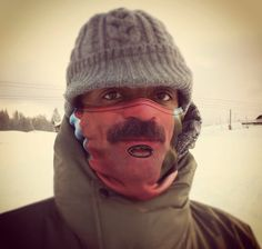 Tom Selleck Warm Face Cover