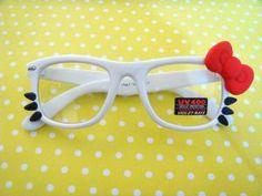 Hello Kitty glasses :)