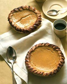 Acorn Squash and Honey Pies - Martha Stewart Recipes