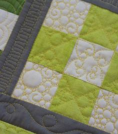 In the presence of quilters…