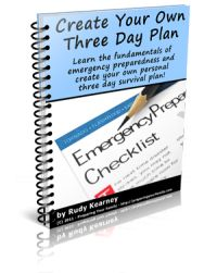 three day preparedness check list