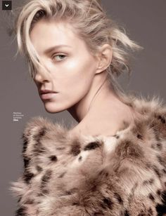 L'express Styles September 2014 | Anja Rubik by Rafael Stahelin [Editorial]
