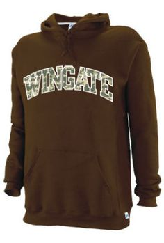 Brown Hooded Sweatshirt. $43.95.  Order now & ship today! Call 704-233-8025.