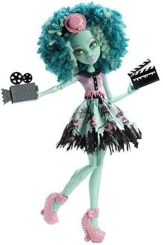 Honey Swamp Frights Camera Action Doll