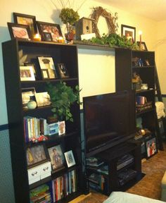 My Bookcase decor idea!