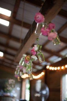 Southern Wedding Barn Flowers