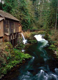 Cedar Creek Grist Mill | Washington
