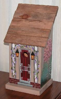 Decorative Bird Houses for Indoors | decorative birdhouse this birdhouse is intended for indoor decorative ...