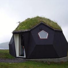 Kvivik Igloo, Faroe Islands, Denmark  http://short-term-renting.com/faroe-islands/ green roofs, little houses, dream, architectur, dome homes, tiny houses, cabins, denmark, faroe islands