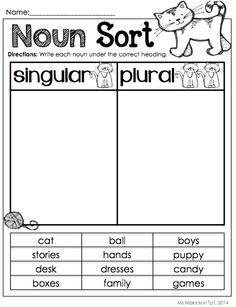 Blend Words Worksheets together with Possessive Pronouns Worksheet ...
