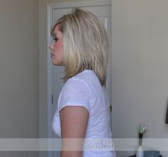 The Small Things Blog: Flat Ironed Straight