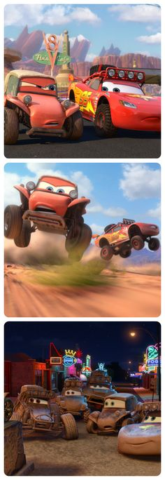 Radiator Springs 500 1/2 premieres tonight on Disney Channel!