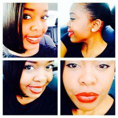 Ayisha Cottontail Red Lips