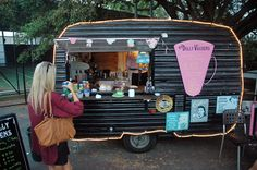 food caravan, vintage trailer business, mobil busi, food carts, food trucks, mobile business ideas, camper ideas food