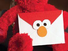 elmo card envelope