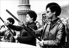 Women of the Black Panther Party for Self-Defense, 1969.
