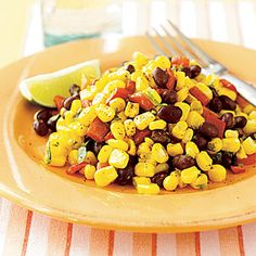 Corn and Black Bean Salad | MyRecipes.com