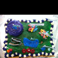 Plant cell cake - science project