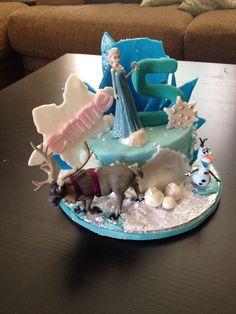 Disney's Frozen Elsa Happy Birthday Cake