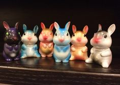 File under: More toys Nadja can't have.    Kaiju Korner's SDCC exclusives are custom BUNNIES photo