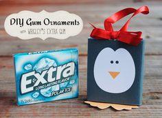 DIY Gum Ornaments with Wrigley's Extra Gum