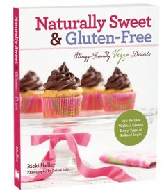 #giveaway @Ricki Heller 's new book! #glutenfree #vegan
