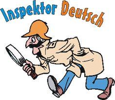 Inspektor Deutsch - online German Grammar Games