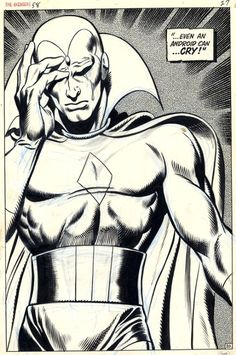 The Vision by Gene Colan