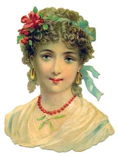 *The Graphics Fairy LLC*: Victorian Graphic - Elegant Woman with Jewelry