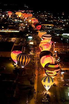 Hot Air Balloon Regatta, Page, Arizona. Always wanted to go to in a hot air balloon.