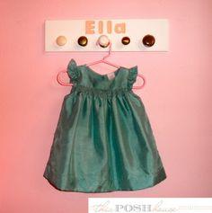 Ella's coat rack/ outfit planner