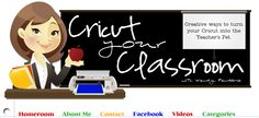 using the cricut in the classroom
