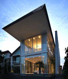 Fachadas: Casa Sun Cap - Wallflower #Architecture + Design #arquitectura