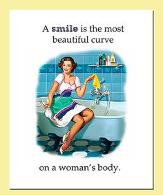 Take a look at this 'Beautiful Curve' Print by Betty's Print Shop on #zulily today!