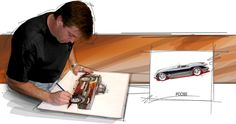 Chip Foose, I would have to say that there is no other like this man.  For all those forgotten old friends out there. This man brings them back to life.  Making those cars that were once someones dream back into a dream. That weekend cruiser! Thank you Chip Foose for all you do !  For the cars and for the people who own them. You are a life changer!!