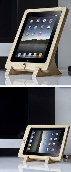 Bamboo iPad Dock #fathersday