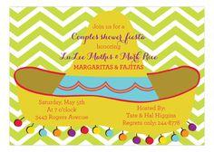Sombrero Invitation from Picture Perfect