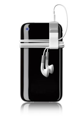 tangle free headphone clip for iphone