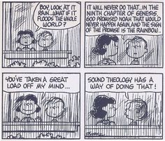 Peanuts was great for bringing the deeper thoughts  beliefs into focus. Thanks Charles Schultz!